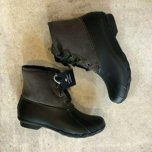 Sperry Saltwater Skinny Corduroy Rain Boots
